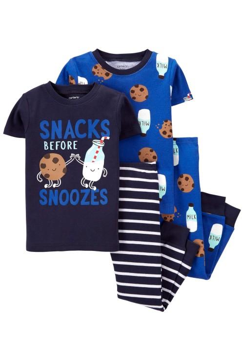 Carter's Set 2 pijamale Fursec