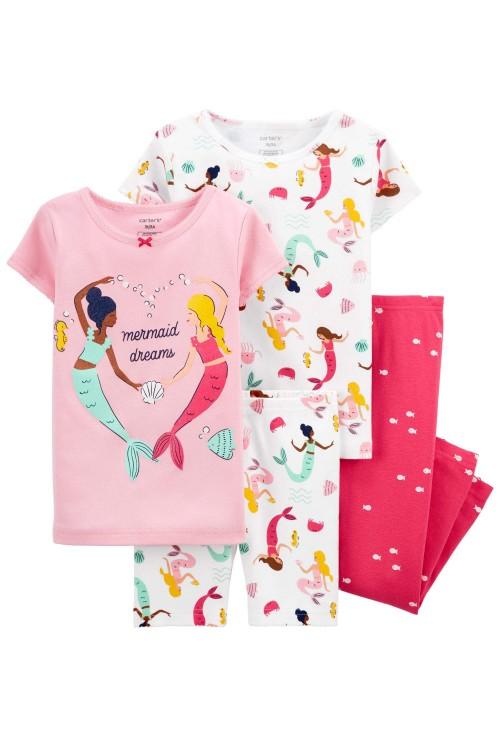 Carter's Set 2 pijamale Sirene