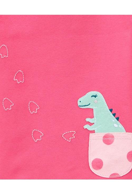 Carter's Set 2 pijamale Dinozaur