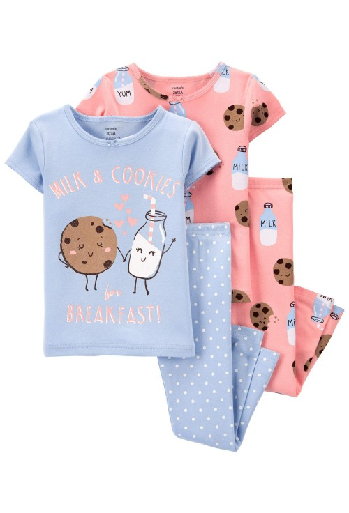 Carter's Set 2 pijamale Mic dejun