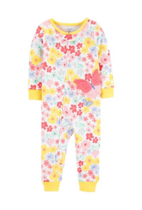 Carter's Pijama cu fermoar Fluturi