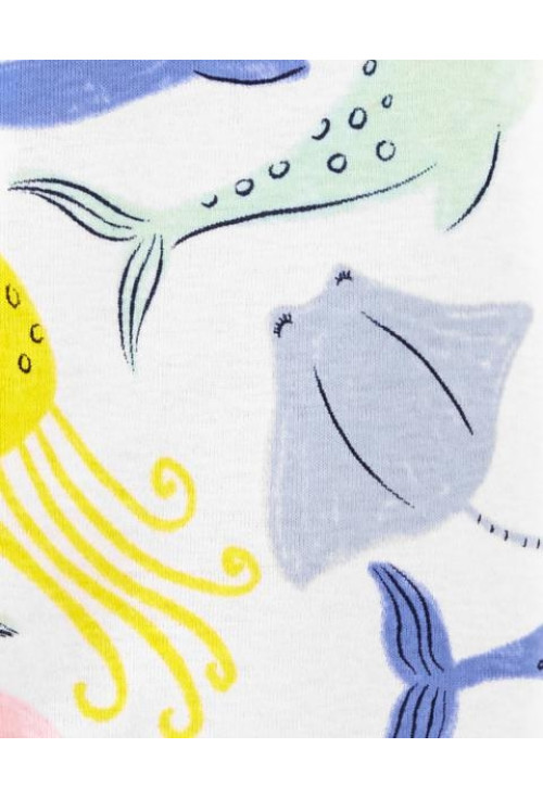 Carter's Pijama cu fermoar Balene