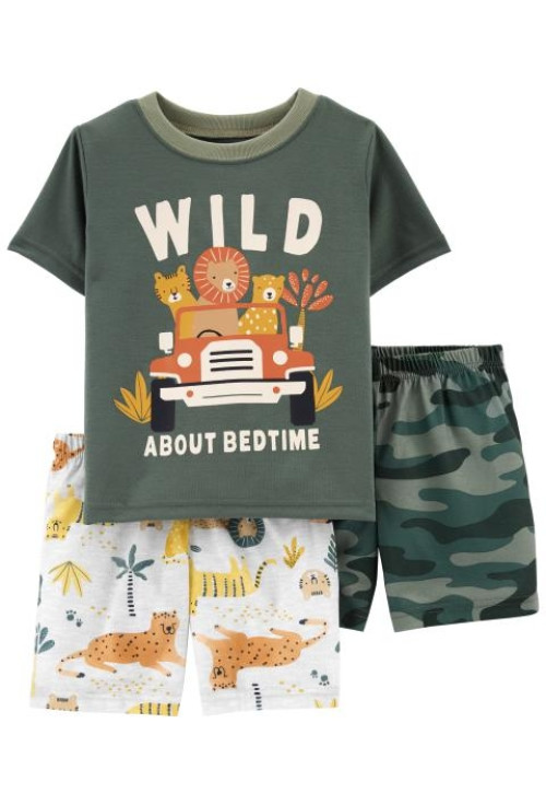 Carter's Pijama 3 piese Safari