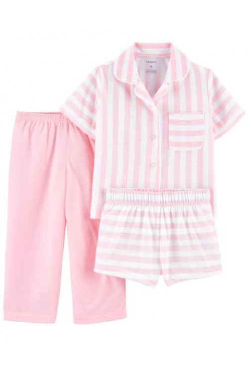 Carter's Pijama 3 piese cu dungi