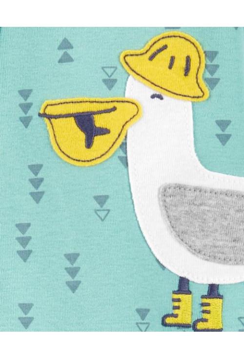 Carter's Pijama cu fermoar Pelican