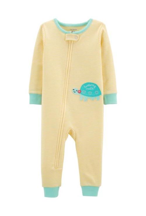Carter's Pijama cu fermoar Testoasa