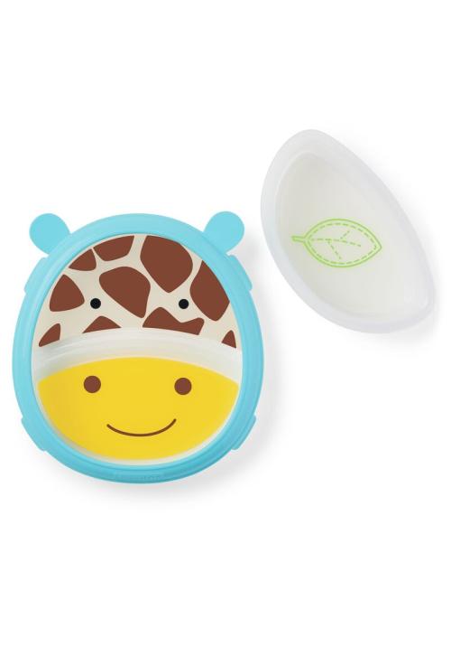 Skip Hop Set Farfurie & Bol Zoo Smart – Girafa
