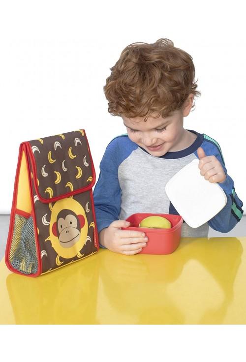 Skip Hop Set 3 cutii pentru pranz Zoo - Maimutica