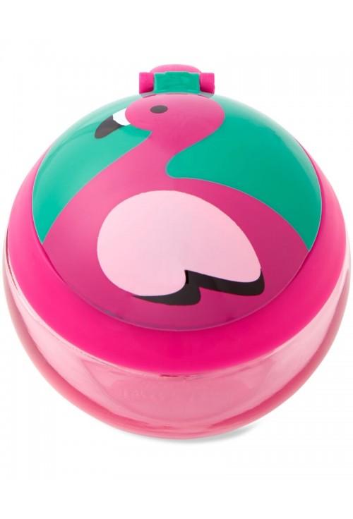 Skip Hop Cana pentru gustari Zoo - Flamingo