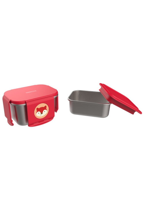 Skip Hop Kit pentru pranz din otel inoxidabil Zoo - Vulpe