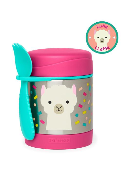 Skip Hop Recipient pentru mancare Zoo – Lama