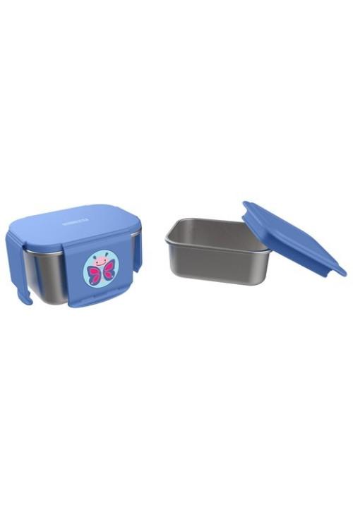 Skip Hop Kit pentru pranz din otel inoxidabil Zoo - Fluture
