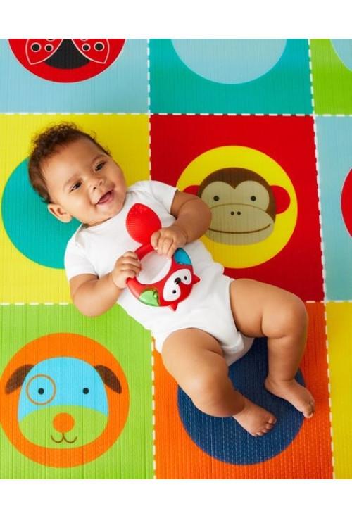 Skip Hop Covoras de joaca reversibil 2 in 1 – Zoo (218 cm)