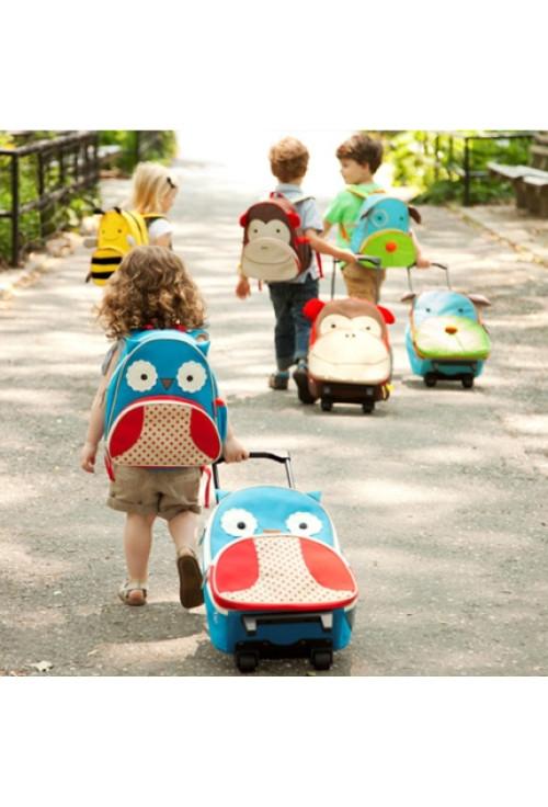 Skip Hop Ghiozdan Troller Zoo - Bufnita