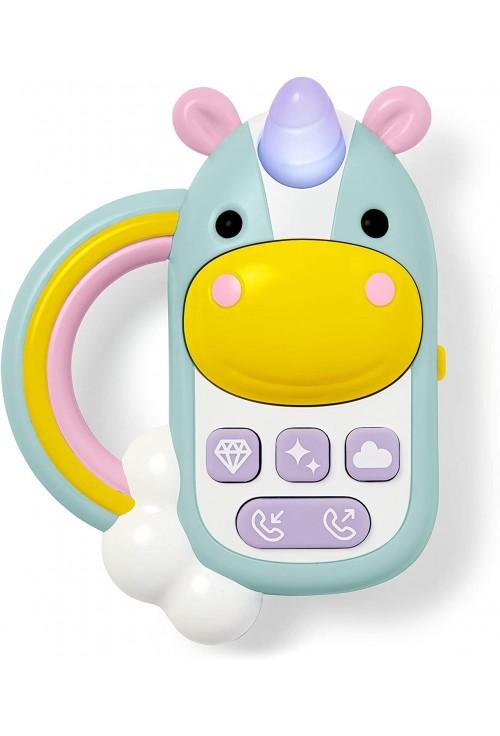 Skip Hop Jucarie interactiva telefon - Unicorn