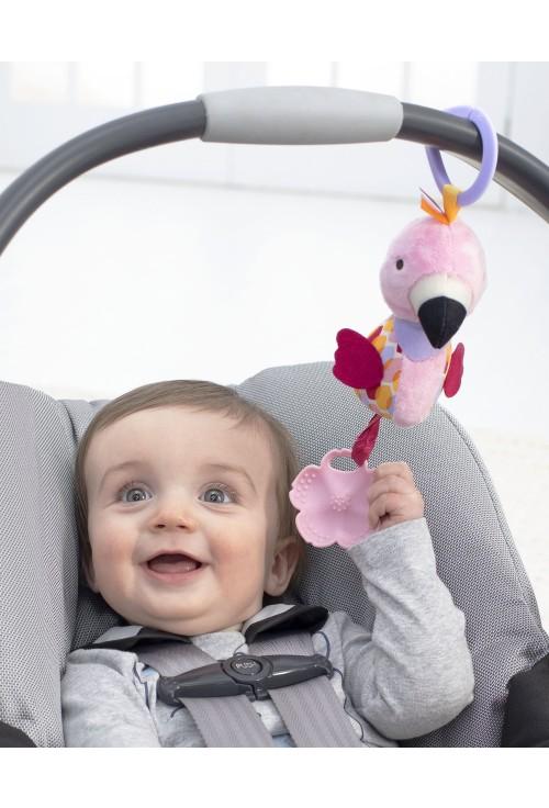 Skip Hop Jucarie pentru dentitie Flamingo - Bandana Buddies