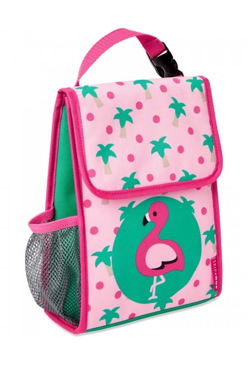 Skip Hop Saculet pentru pranz Zoo - Flamingo
