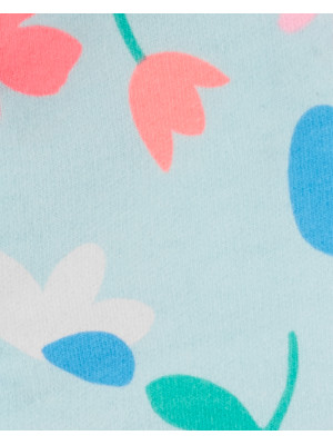 Carter's Set 3 piese pantaloni, body si hanorac floral