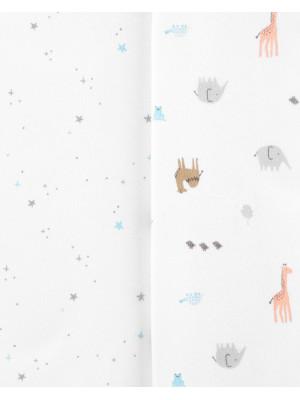 Carter's Set 3 Piese body Animalute 100% Bumbac Organic