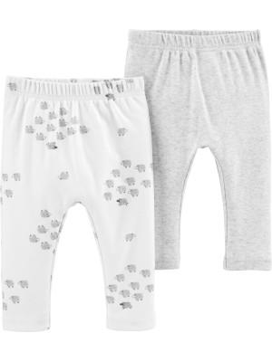Carter's Set 2 piese pantaloni Oite 100% Bumbac Organic