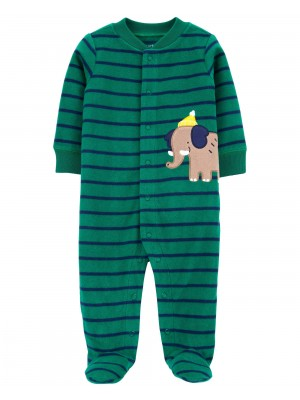 Carter's Pijama bebelus Elefant