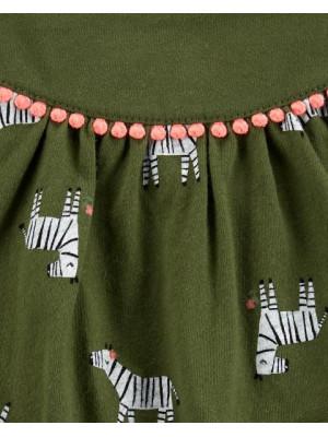 Carter's Body tip rochita Zebra