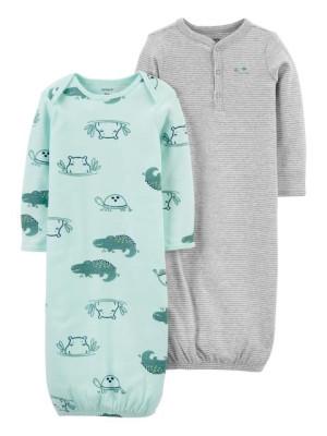 Carter's Set 2 piese sac de dormit Hipopotam