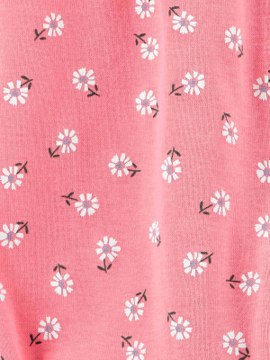 Carter's Salopeta de vara roz cu flori