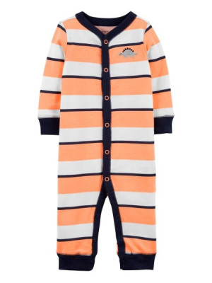 Carter's Pijama cu capse si dungi