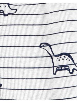 Carter's Pijama cu fermoar reversibil Dinozaur