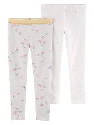 Carter's Set 2 pantaloni, unicorni