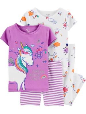 Carter's Set 2 pijamale Unicorn