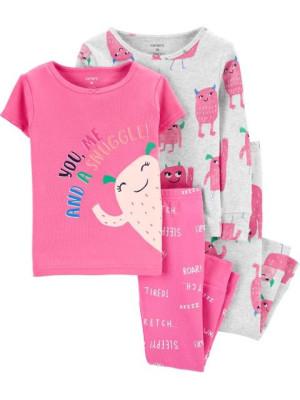 Carter's Set 2 pijamale Monstrulet