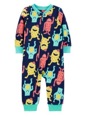 Carter's Pijama fleece Monstruleti