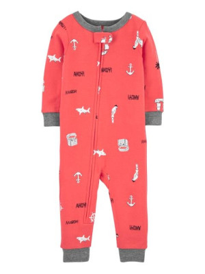 Carter's Pijama cu fermoar Rechin 2K461310