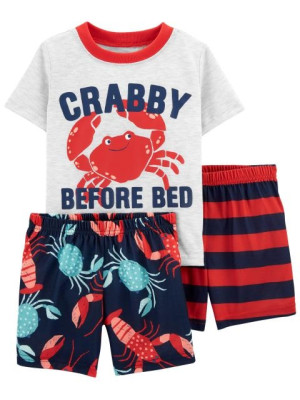 Carter's Pijama 3 piese Crab