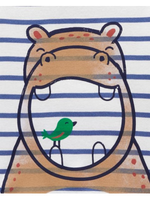 Carter's Set 2 pijamale Hipopotam