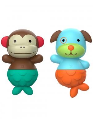Skip Hop Jucarii ZOO pentru baie - Maimutica / Catel