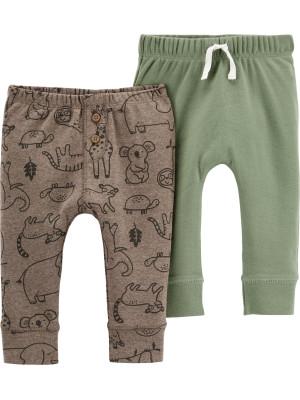 Carter's Set 2 piese pantaloni Animale