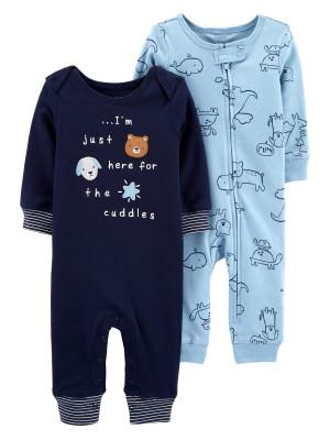 Carter's Set 2 piese pijamale bebelus Catel