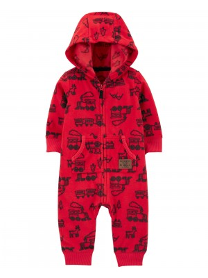 Carter's Salopeta fleece Tren