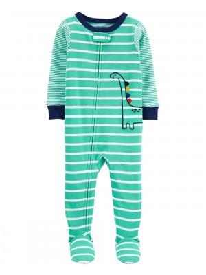 Carter's Pijama bebelus Dinozaur cu dungi