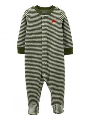 Carter's Pijama bebe cu dungi