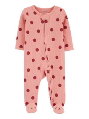 Carter's Pijama cu fermoar reversibil Buline