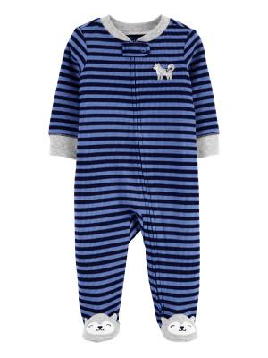 Carter's Pijama cu fermoar reversibil Lup