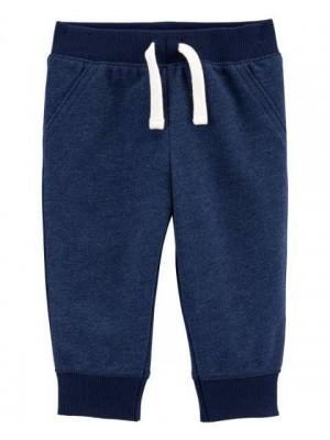 Carter's Pantaloni bleumarin cu snur