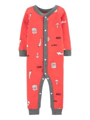 Carter's Pijama cu capse Ancora