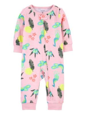 Carter's Pijama cu fermoar reversibil Paun