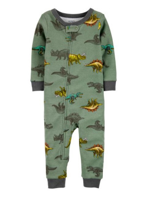 Carter's Pijama cu fermoar Dinozaur