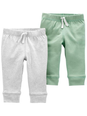 Carter's Set 2 piese pantaloni cu snur